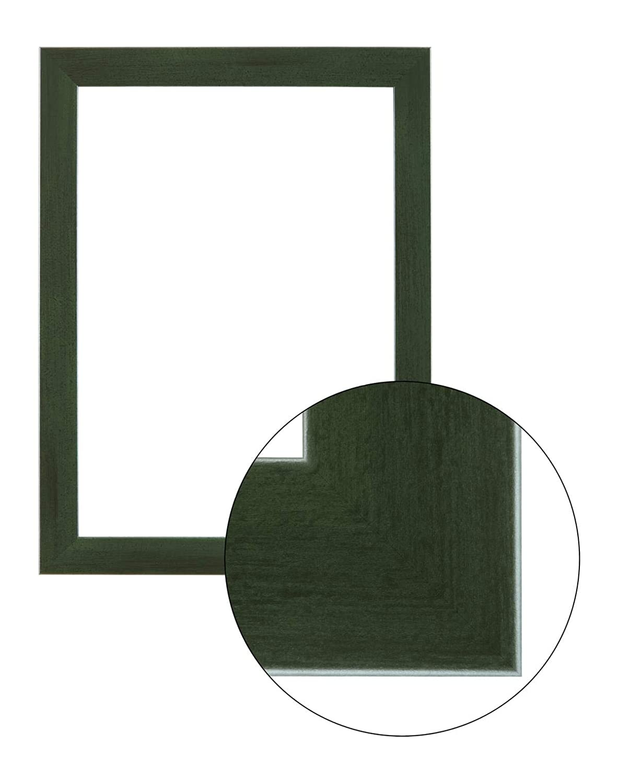 Framo36 Luxus 50 cm x 140 cm MDF Holz Bilderrahmen in Farbe Grün gewischt