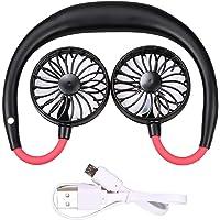 Sports Hanging Neck Fan Charging Fan Folding Handheld Fan Portable Lazy Fan