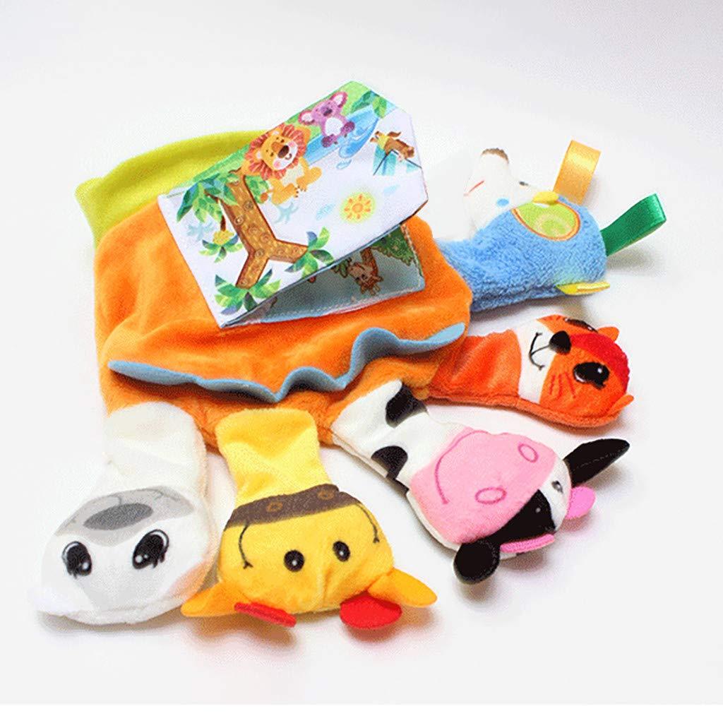 Amazon.com: Erlou Education Toys - Guantes de peluche para ...