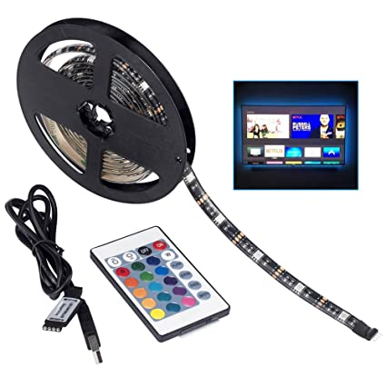 Amazon led tv backlightsmy usb led strip light rgb 656ft led tv backlightsmy usb led strip light rgb 656ft200cm waterproof aloadofball Gallery
