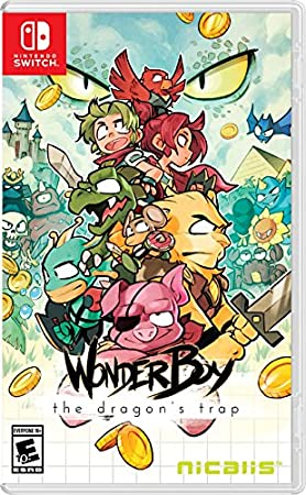 Wonder Boy The Dragon's Trap - Nintendo Switch