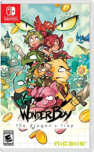 Wonder Boy The Dragon's Trap - N...