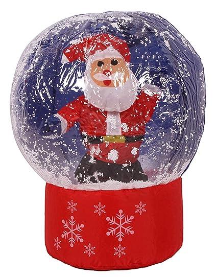 Amazon.com: Edith qi Navidad Inflable Santa Claus Árbol de ...