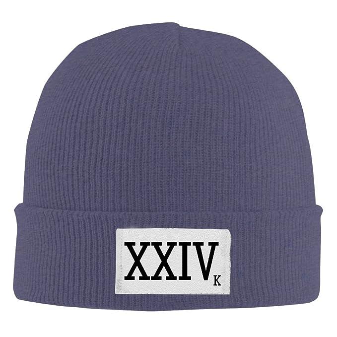 Classic XXIVk 24k Magic Bruno Mars Beanie Knit Hat  Amazon.ca  Clothing    Accessories 0aaa3644059
