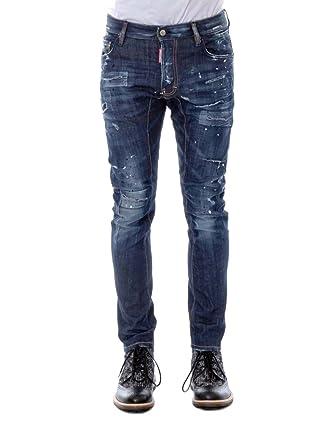 DSquared2 Tidy Biker S71LA0977 Jeans Dsquared D2 Tapered Leg Slim Fit   Amazon.co.uk  Clothing 76b3781d60b3