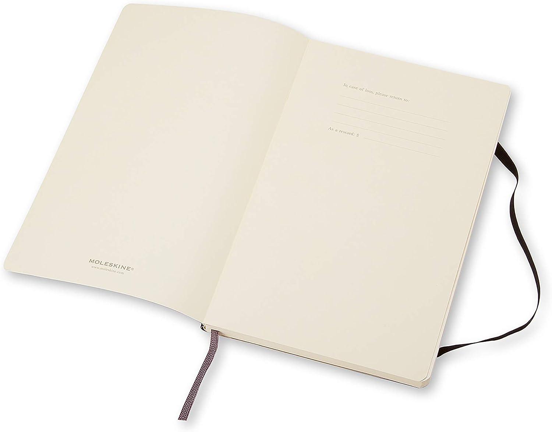 Moleskine - Cuaderno Clásico con Páginas Lisas, Tapa Blanda y Goma ...