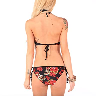 f31fb4a8d9 Iron Fist Siesta Skull Bikini BLACK Extra Small  Amazon.co.uk  Clothing