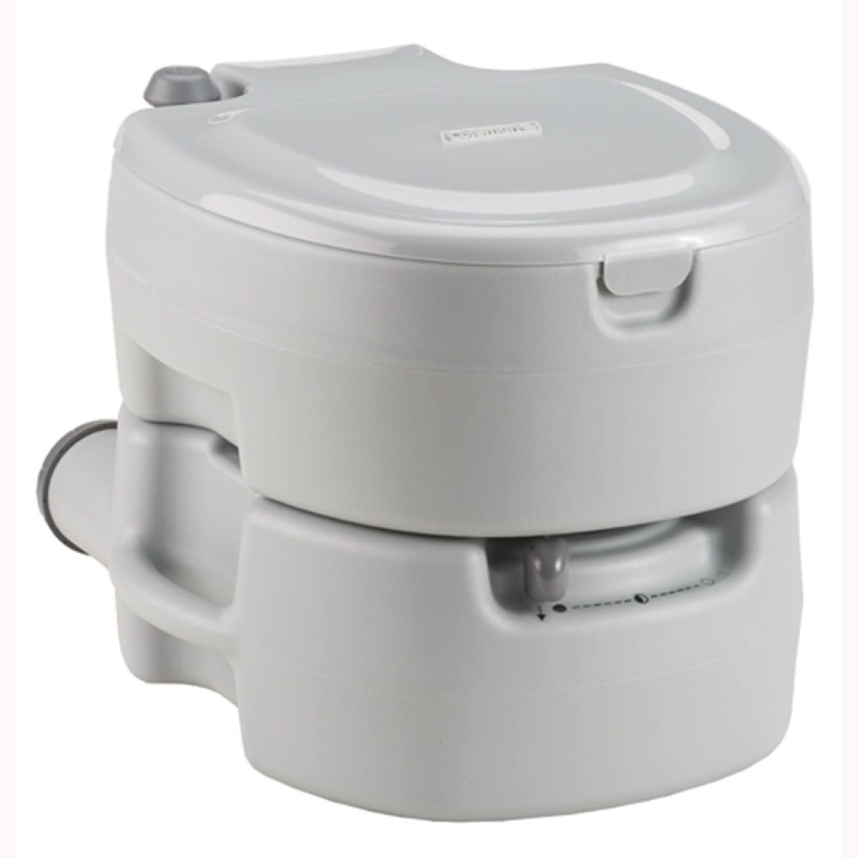 Coleman Large Flush Toilet : Sports & Outdoors