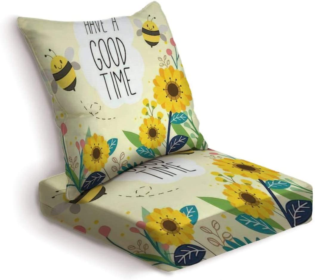 Super Soft Large Bee Cushion Home Acessories Cushions for Living Room Garden