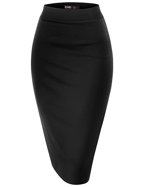 Image result for black pencil skirt