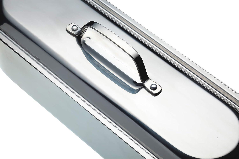 Kitchen Craft Clearview Pentolino per pesce in acciaio INOX