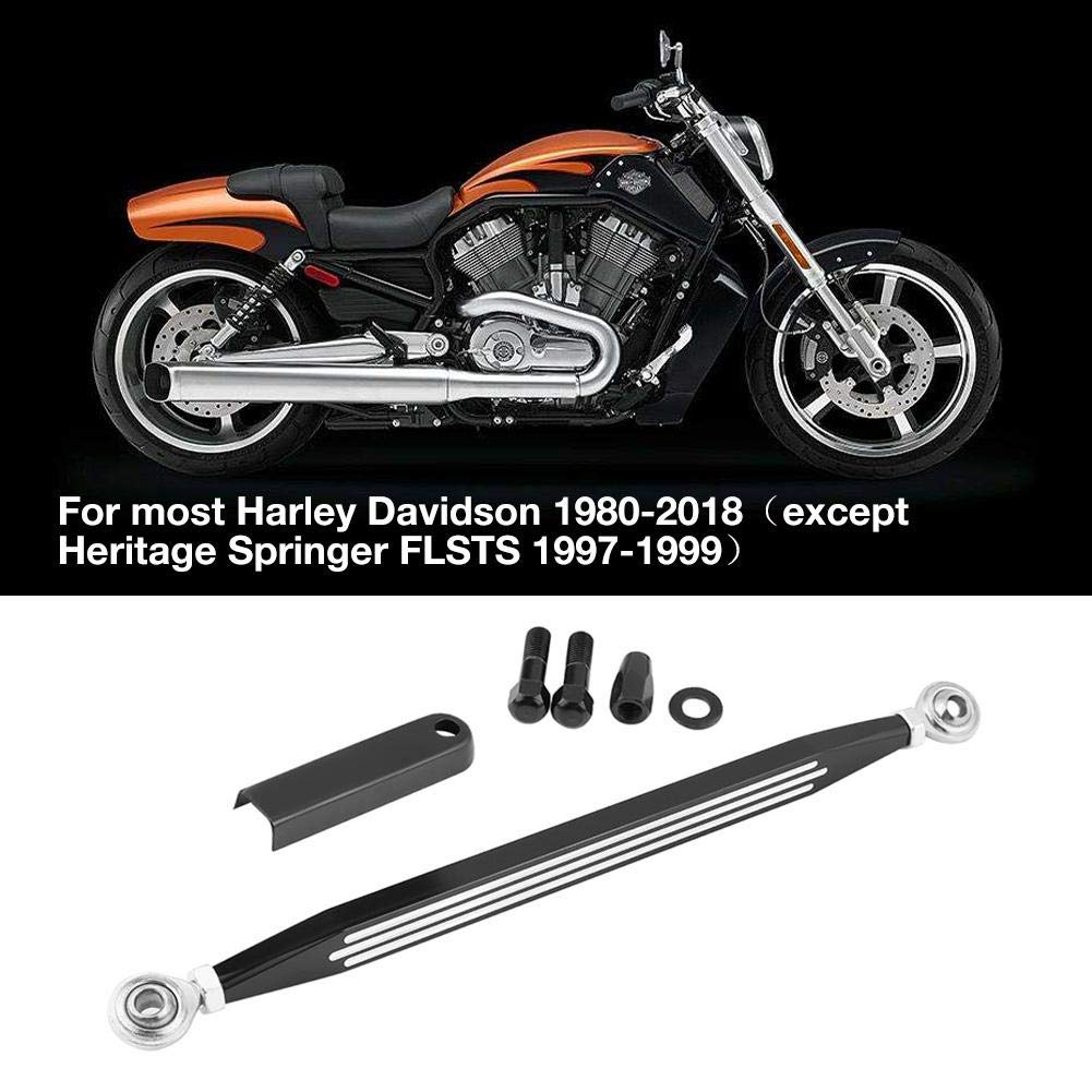 Negro Duokon Motorcycle CNC Gear Shift Varilla de varillaje Shifter Link
