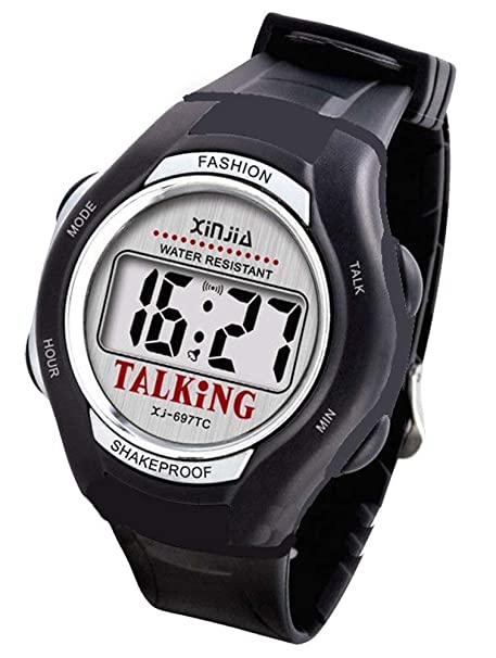 CursOnline CoL380-15 - Reloj de muñeca (parlante, lengua italiana, instrucciones en