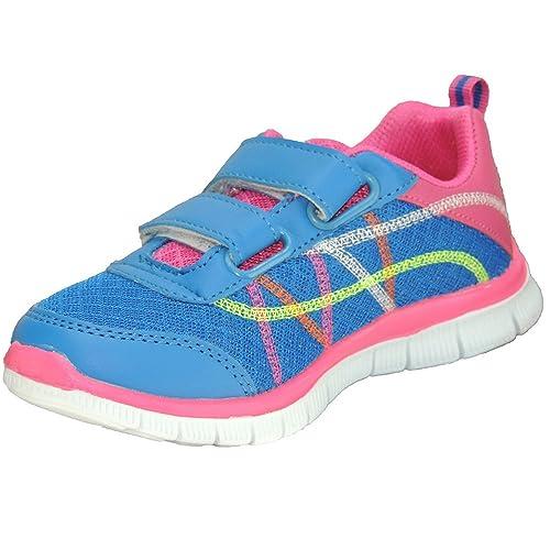 Sweden 562103 Zapatillas Deportivas con Velcro y Piso Eva para Niña: Amazon.es: Zapatos y complementos