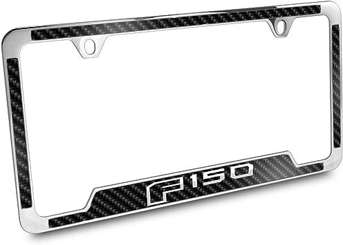 Ford F-150 Black License Plate Frame