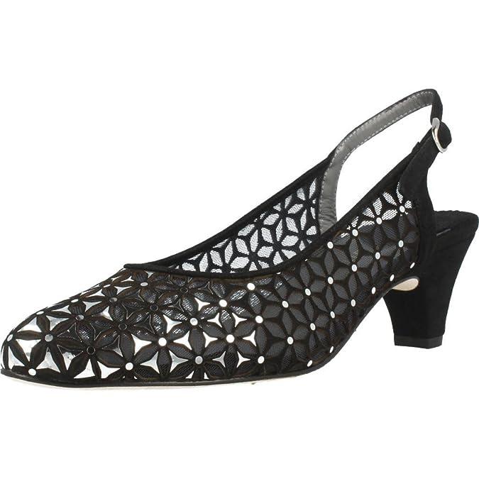 Chaussures à talon pour femme ARGENTA 52859, Color Noir