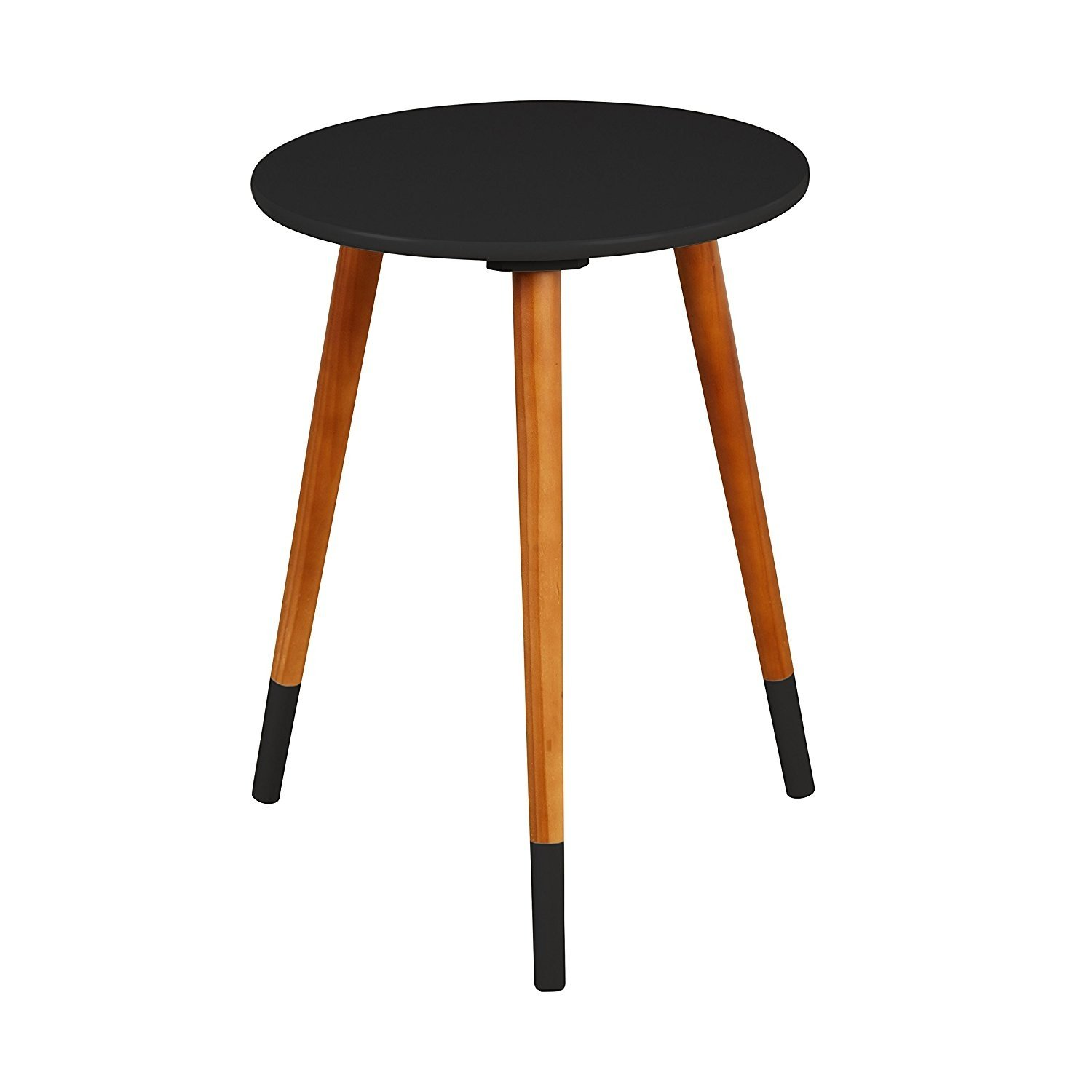 Indoor Multi-function Accent table Study Computer Desk Bedroom Living Room Modern Style End Table Sofa Side Table Coffee Table Modern Round End Table