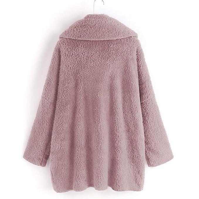 AOJIAN Women Jacket Long Sleeve Outwear Turtleneck Loose Pure Color Outcoat Coat at Amazon Womens Coats Shop