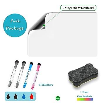 Hoja magnética para pizarra blanca de borrado en seco para ...
