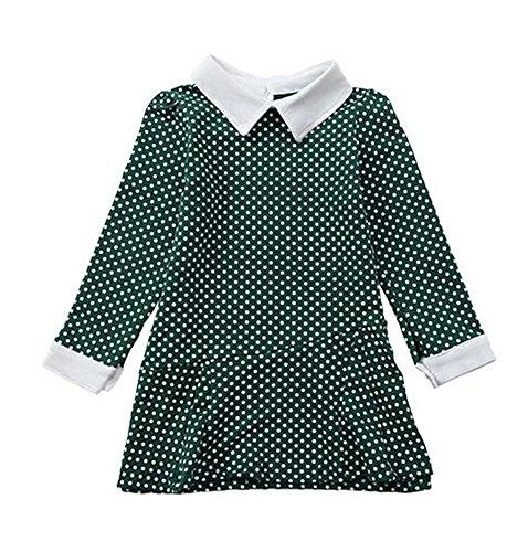 Spring New Fashion Cute Dresses For Children - Children Dress 1 -- Green