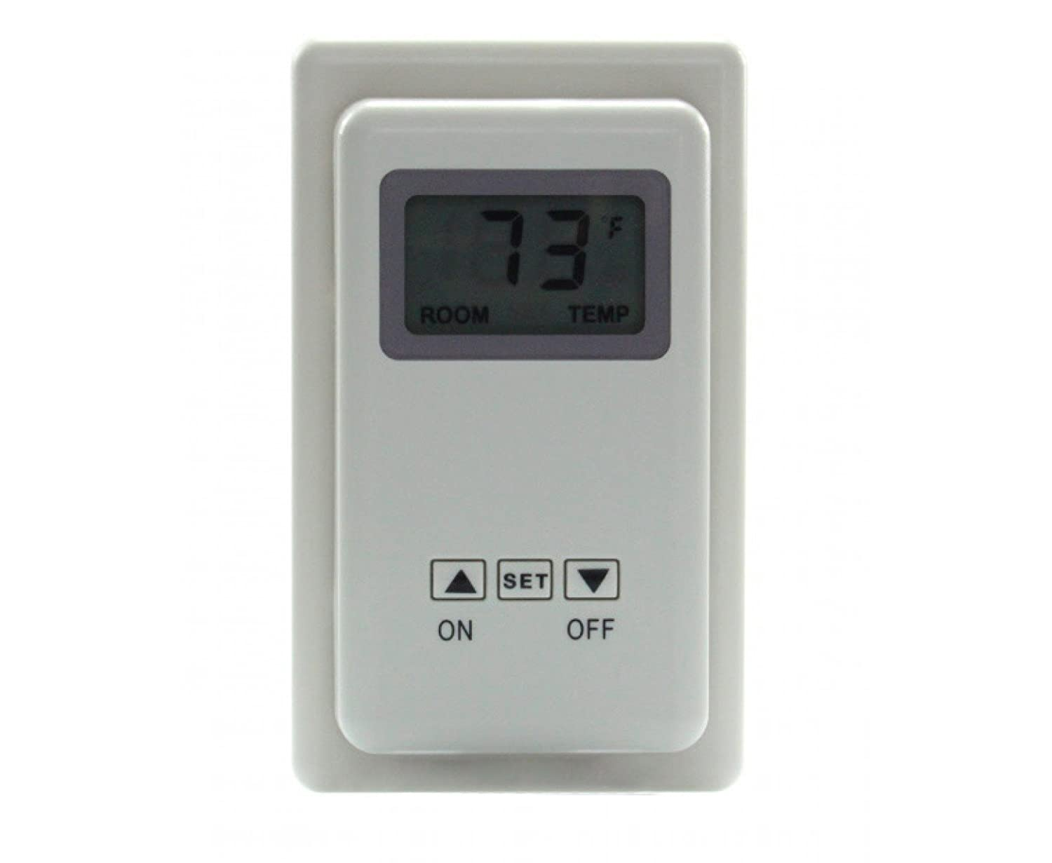SkyTech TS-3 Wired Wall Mounted Thermostat Fireplace Control (SKY-TS-3)