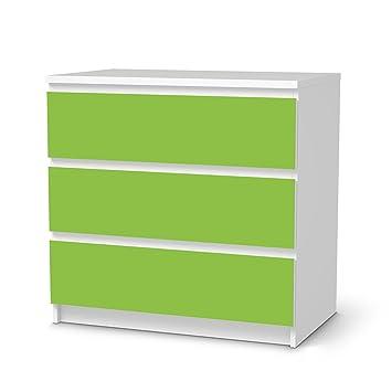 Creatisto Möbeltattoo Für IKEA Malm 3 Schubladen   Schutzfolie Dekoration  Möbel Sticker Folie   Möbel