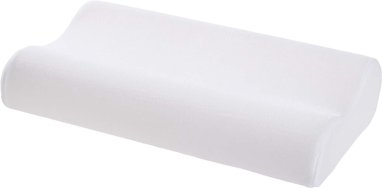 AmazonBasics Memory Foam Contour Pillow - 24 x 15 x 5 Inches, Standard