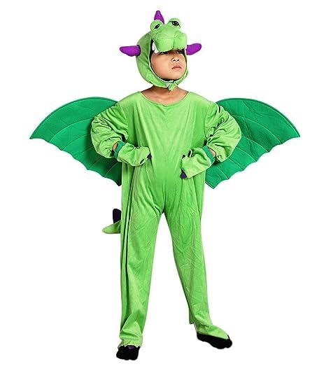 Sy20 Taglia 4-5A (104-110cm) Costume da Drago per bambini ... 61f9abd8c71