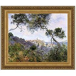 Design Toscano Bordighera, Italy, 1884: Canvas Replica Painting: Grande