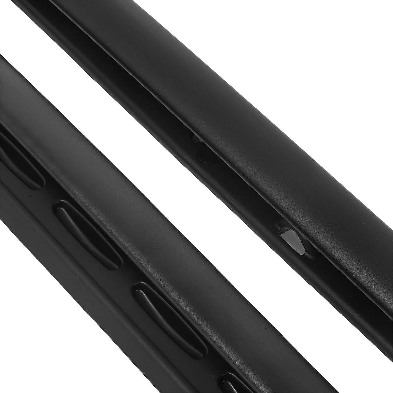Bestauto Cross Bar Roof Rack Cross Bars Fit for 05-16 Land Rover Discovery LR3 LR4 Long Version Rail Roof Rack Aluminum Black