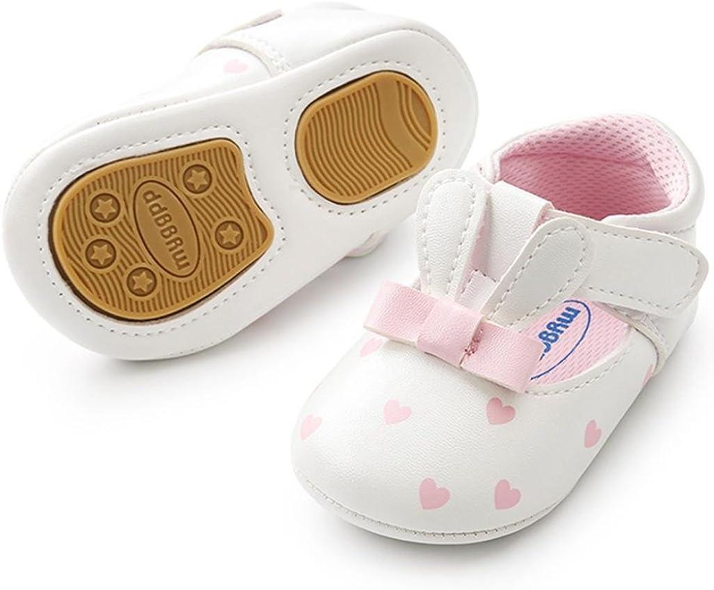 Transer Cute B/éb/é Filles Lapin Oreilles Premiers Marcheurs Chaussures