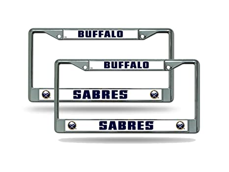 Amazon.com: San Diego Chargers Chrome License Plate Frames - Set of ...