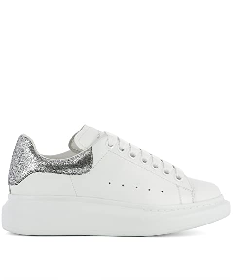 Alexander McQueen Women's 470630Whnbs9071 White Leather ...