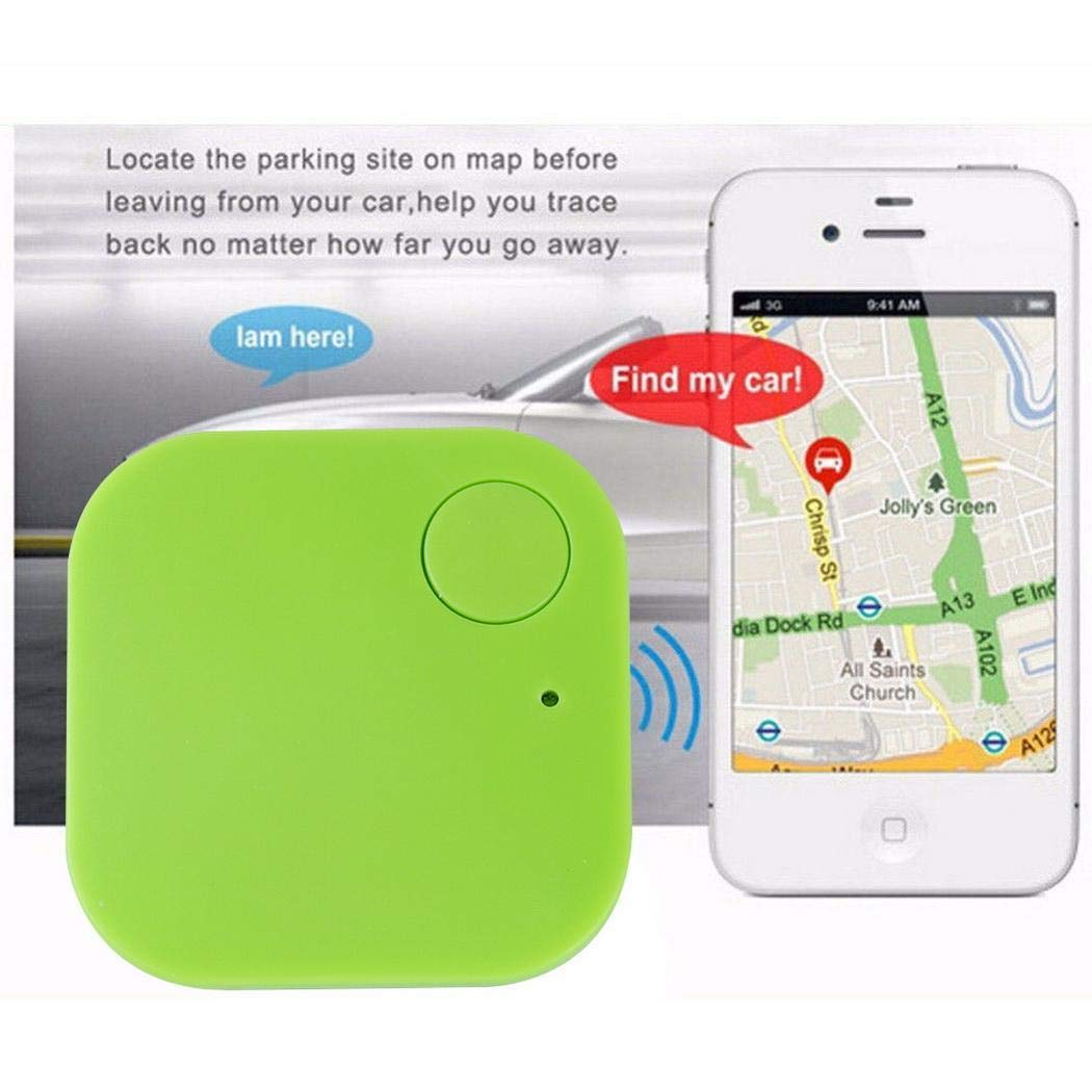 GUIGSI Mini Bluetooth Rastreador Borsa Sirena Portamonete Anti-Perso Rastreador Chiave Smart Puntatore Mini Pet Tracker GPS di Allarme per iOS Android