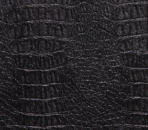 Vinyl Fabric Crocodile GATOR Fake Leather Upholstery 54