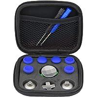 SPDYCESS 13 Piezas Metal Magnético Botón Thumbsticks D-Pad