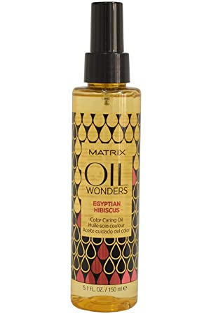 Matrix Oil Wonders Egyptian Hibiscus Color Caring Oil 5.1 Ounce /150 ml