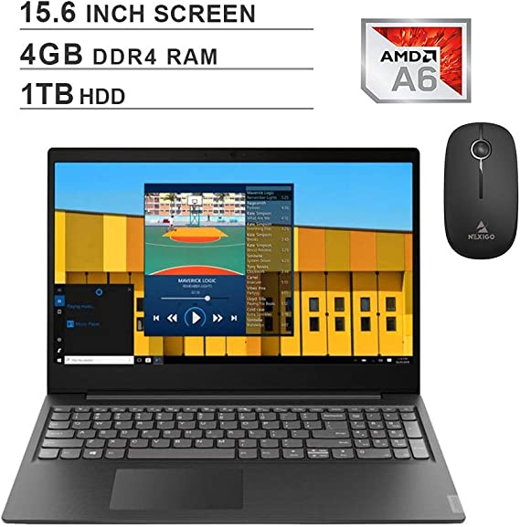 2020 Newest Lenovo Premium IdeaPad S145 15.6 Inch Laptop (AMD A6-9225 up to 3.1GHz