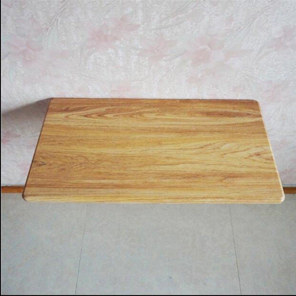 XIAOLIN シンプルな壁の折りたたみテーブルの壁のテーブルのダイニングテーブルの小さな壁のテーブルのコンピュータのデスク中小規模のコンピュータのコンピュータのサイドテーブルの壁掛けダイニングテーブル (色 : イエロー いえろ゜, サイズ さいず : 60*30cm) B07F1NV6MC 60*30cm|イエロー いえろ゜ イエロー いえろ゜ 60*30cm