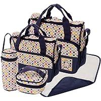 5pcs lunares bolsas de pañales de bebé pañales bolsa de pañales Hospital