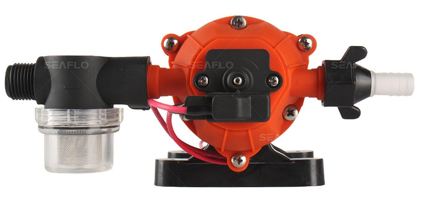 SEAFLO 12V 1.6 GPM 100 PSI 34-Series Water Pressure Diaphragm Pump by Seaflo (Image #3)