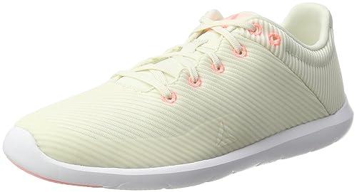 Reebok Studio Basics, Zapatillas de Deporte Interior para Mujer, Blanco (Chalk/Sand