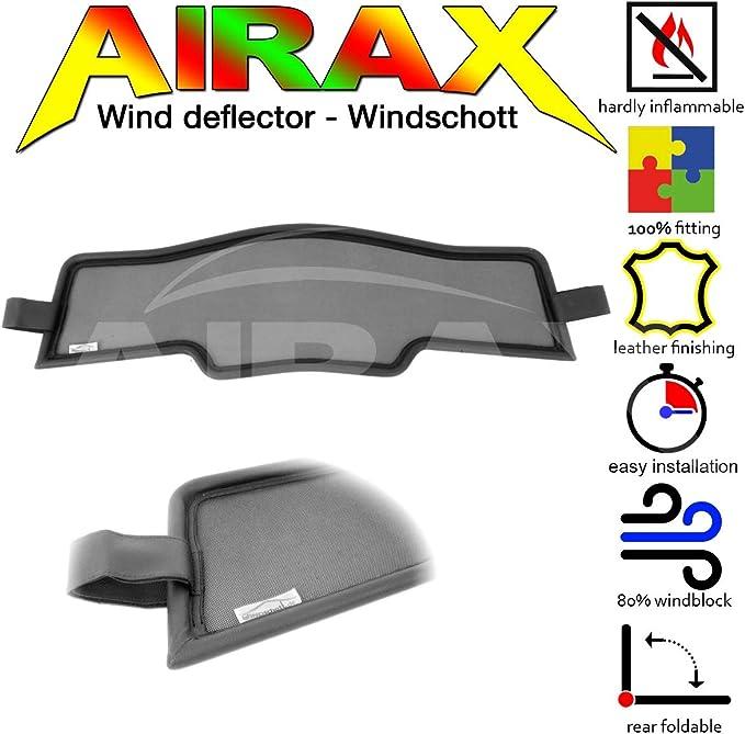 Airax Windschott f/ür A5 Typ 8F Windabweiser Windscherm Windstop Wind deflector d/éflecteur de vent