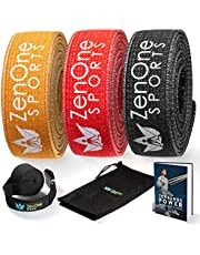 ZenBands Power Fabric Resistance Bands Set, 1 Fitness band in 6 Different Sizes Strengths, Resistance Bands for Training at Home, Pull-up Bands, incl. e-book & workout guide