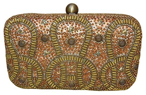 Spice Art, Poschette giorno donna oro COPPER