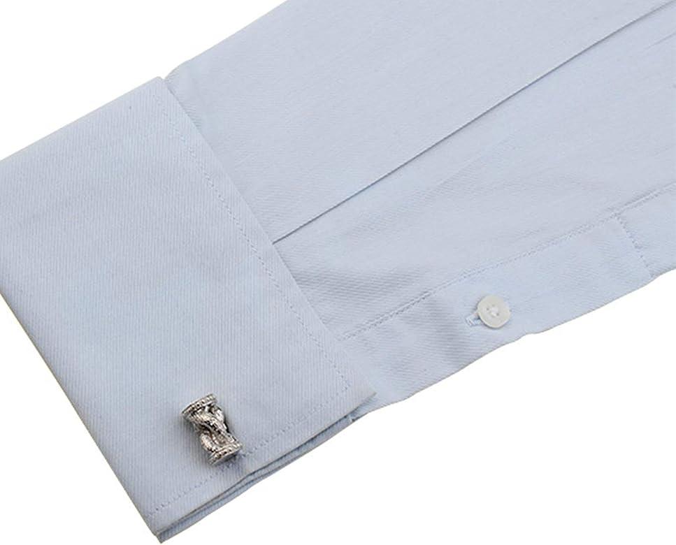 Aeici Gemelo Camisa Hombre Gemelos para Camisa Tambor Gemelos Camisa para Hombre Plata: Amazon.es: Joyería