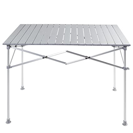 cddcdacc16e Amazon.com   EnjoyShop Aluminum Lightweight Folding Picnic Camping Table  Strong and Sturdy Outdoor Use   Garden   Outdoor