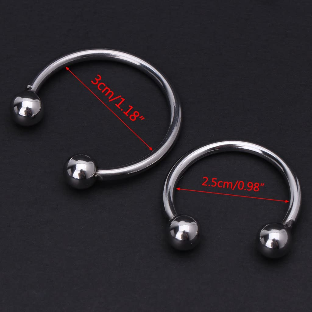 UOTA P/énnis Rings Cǒck Lock Ring Loops Sleeves Delay Male Adult Toy for Couples 25//30mm