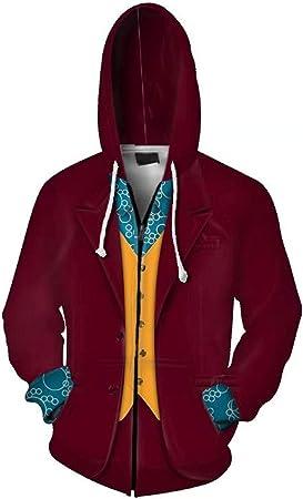 RedJade Hombres Mujeres Sudadera con Capucha impresión Tops Camisa de Jersey Chaqueta de Sudor Outwear Sudaderas Arthur Fleck Joker: Amazon.es: Juguetes y juegos