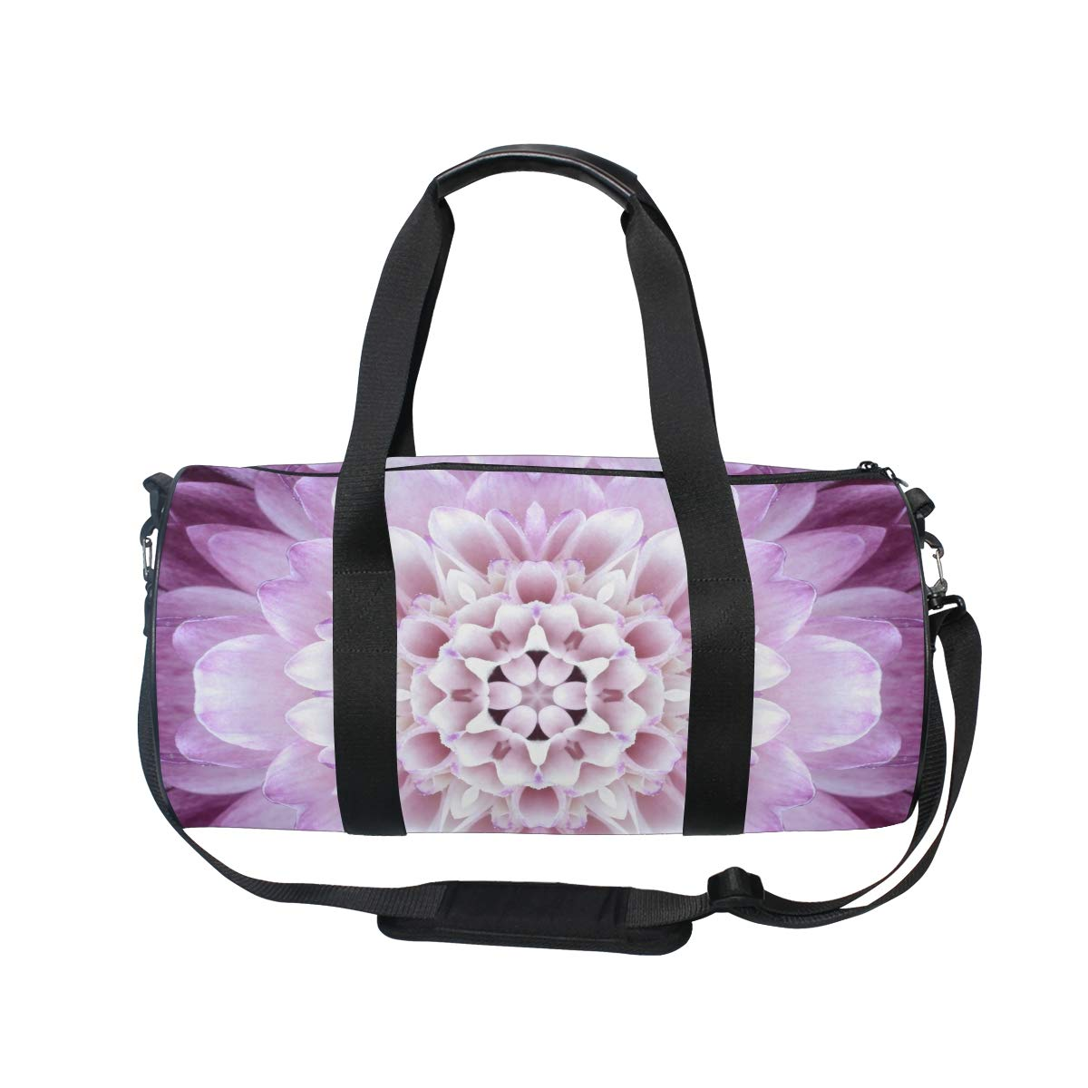 Mandala Bohemian Yoga Sports Gym Duffle Bags Tote Sling Travel Bag Patterned Canvas with Pocket and Zipper For Men Women Bag by EVERUI (Image #2)